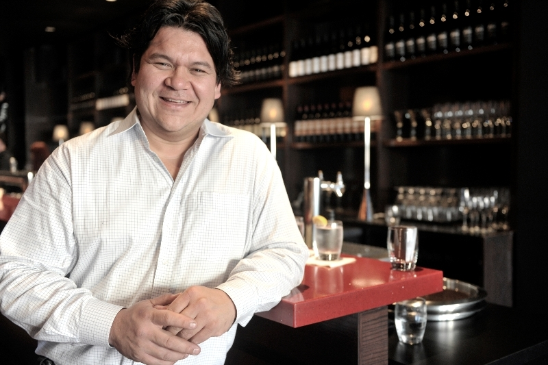 Propreitor Ed Ho, earth and Globe Bistro Restaurants