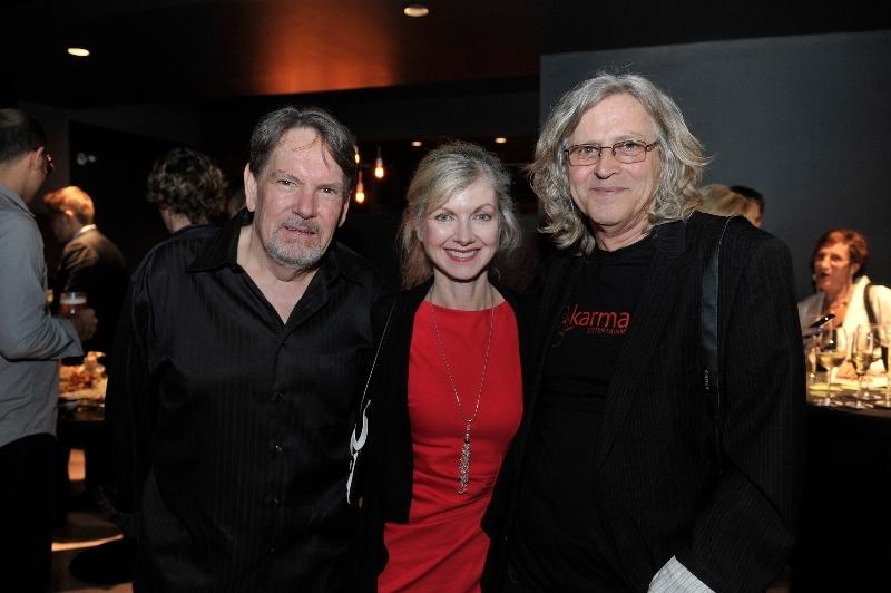 Producer Don Carmody, Producer Catherine Goudier, Oscar Winner Director Roger Christian
